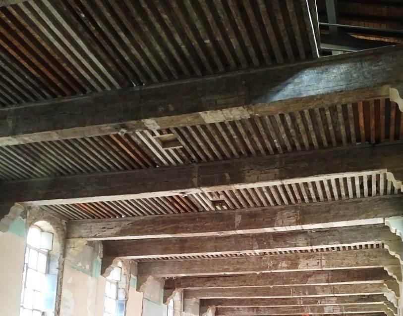 Groupe Maindron restauration planchers Hôtel Dieu Lyon
